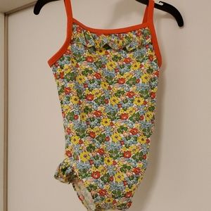 Baby boden swimsuit 👙 floral 6 12 months